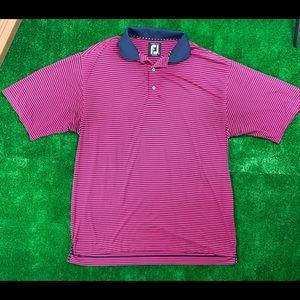 Footjoy golf shirt size large